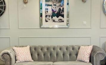 sofa pikowana