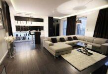 dom w stylu glamour